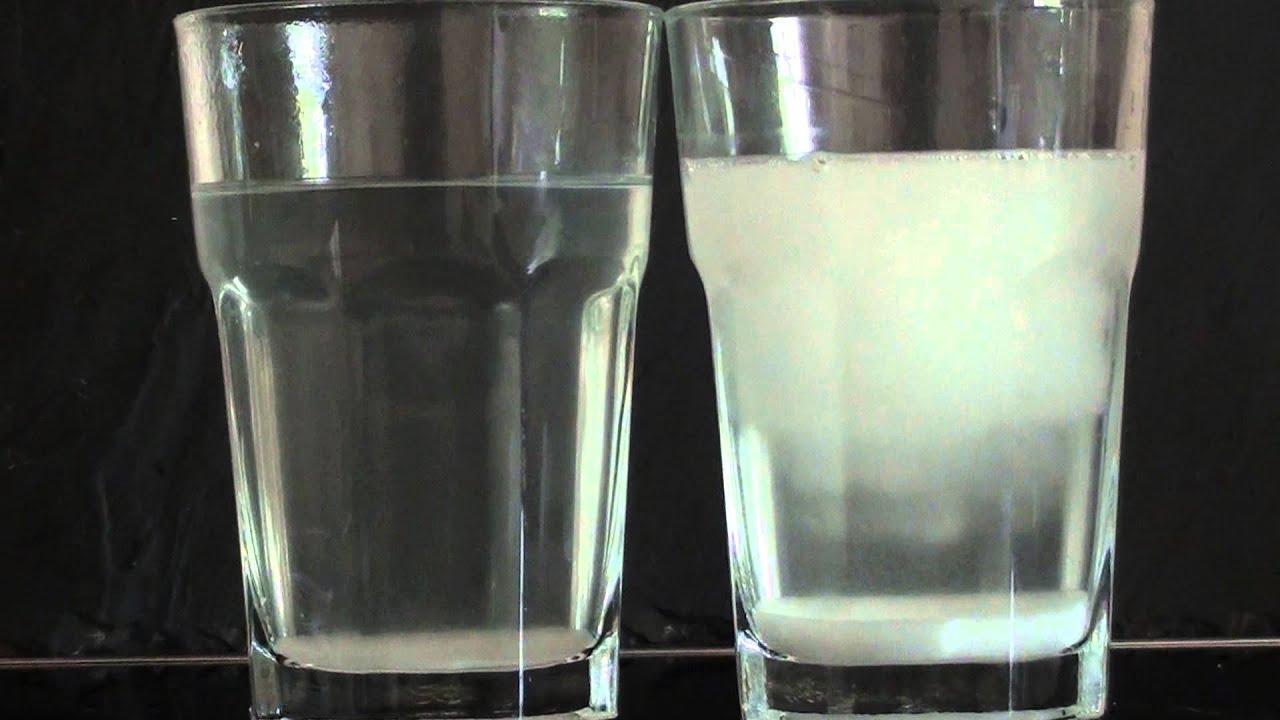 Wasser Und Salz Experiment
