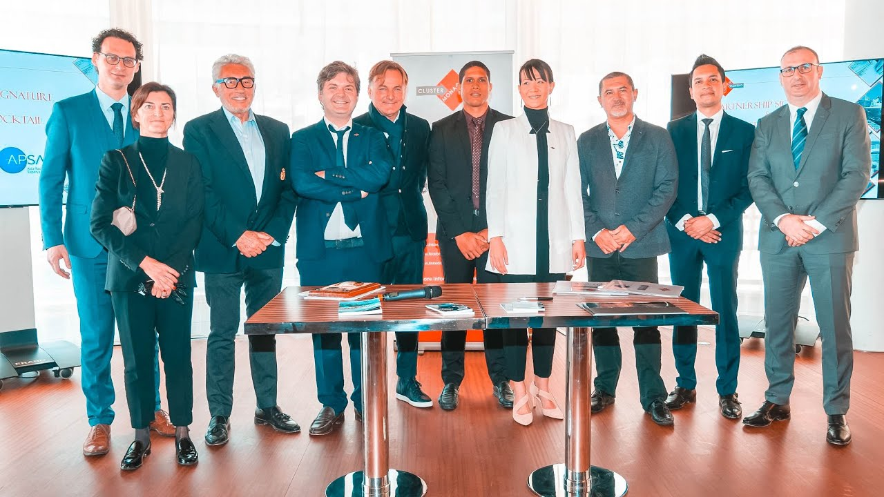 Download Cluster Yachting Monaco Partnership with Tahiti Tourisme & the Asia Pacific Superyacht Association