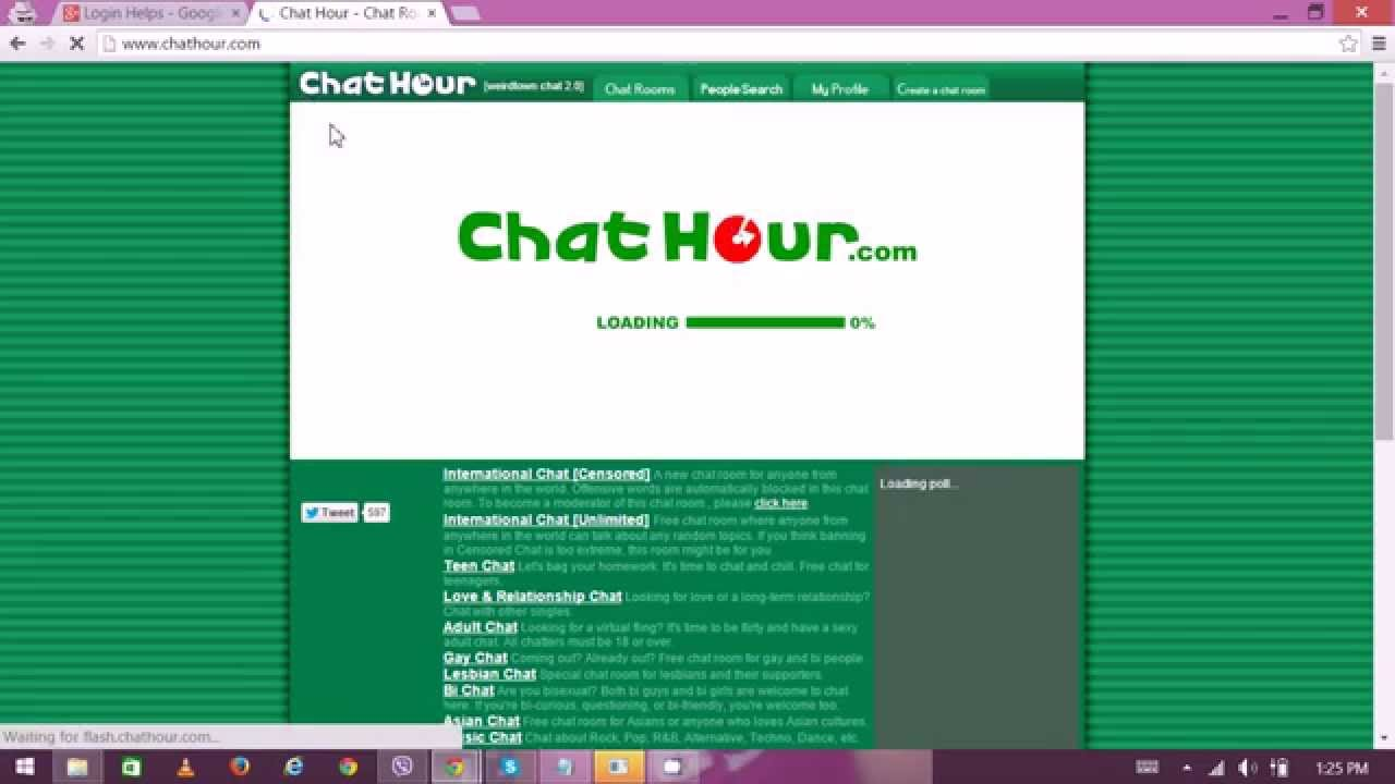 Mobile chat no login