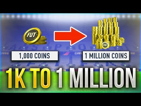 FIFA 18 - HOW TO TRADE FROM 1K To 1 MILLION COINS (Best Trading Methods)