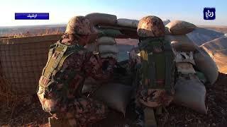 الجيش العربي يحبط تهريب كمية من المخدرات على الحدود السورية - (22-4-2018)