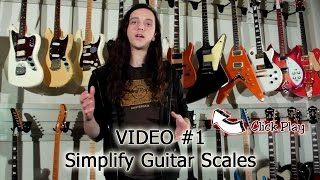 Guitar Scales & Technique Lesson Series - Video 1