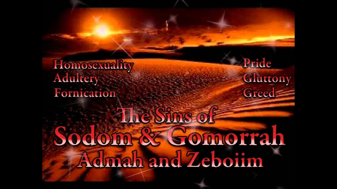 Homosexuality Sermon 1 Sodom and Gomorrah - YouTube