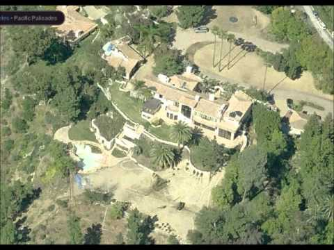 Steven Spielberg's Pacific Palisade Mansion