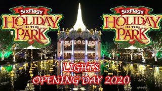 Holiday In The Park Lights Opening Day At Six Flags Great America