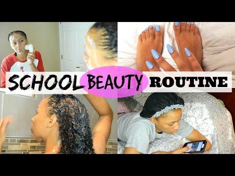 My School Beauty Routine
