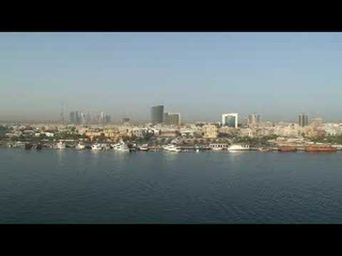 Dubai Creek Screen Saver