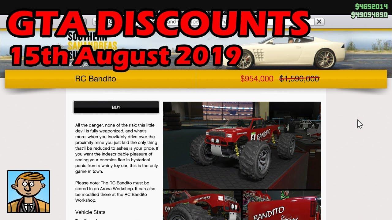 Internet Car Sales >> Gta Online Best Vehicle Discounts 15th August 2019 Gta 5 Weekly Car Sales 3