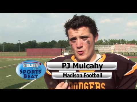 9 10 16 Lenape Valley vs Madison Football Morris