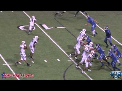 Edna High School Cowboys VS Cameron Yoe High School Yoemen Highlights