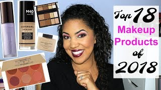 Top 18 Makeup Products of 2018 (Mostly Drugstore)