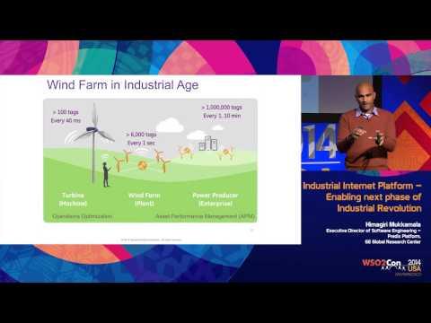 WSO2Con USA 2014 : Keynote - Industrial Internet Platform