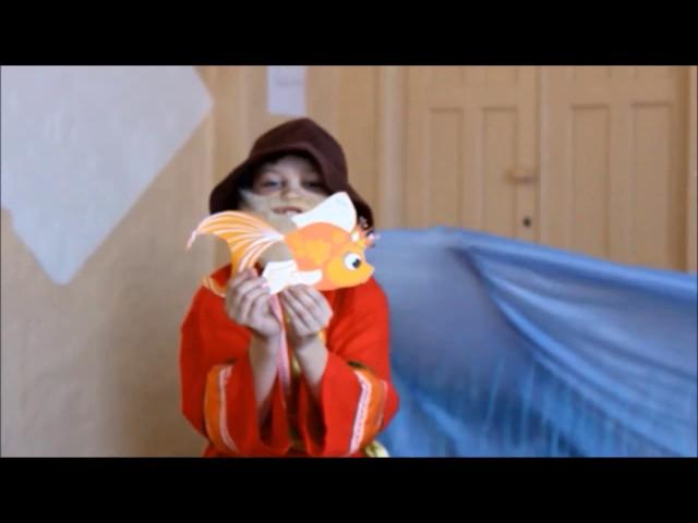 Изображение предпросмотра прочтения – ЛарисаФедулова читает произведение «Сказка о рыбаке и рыбке» А.С.Пушкина