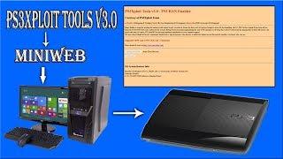 How To Host The PS3XPLOIT V3 Tools HAN Via Miniweb
