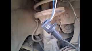 Лансер 9 Датчик ABS меняем на датчик коленвала от ВАЗ