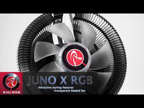 RaiJintek - DESIGNED IN GERMANY, MADE IN TAIWAN - JUNO X -RGB