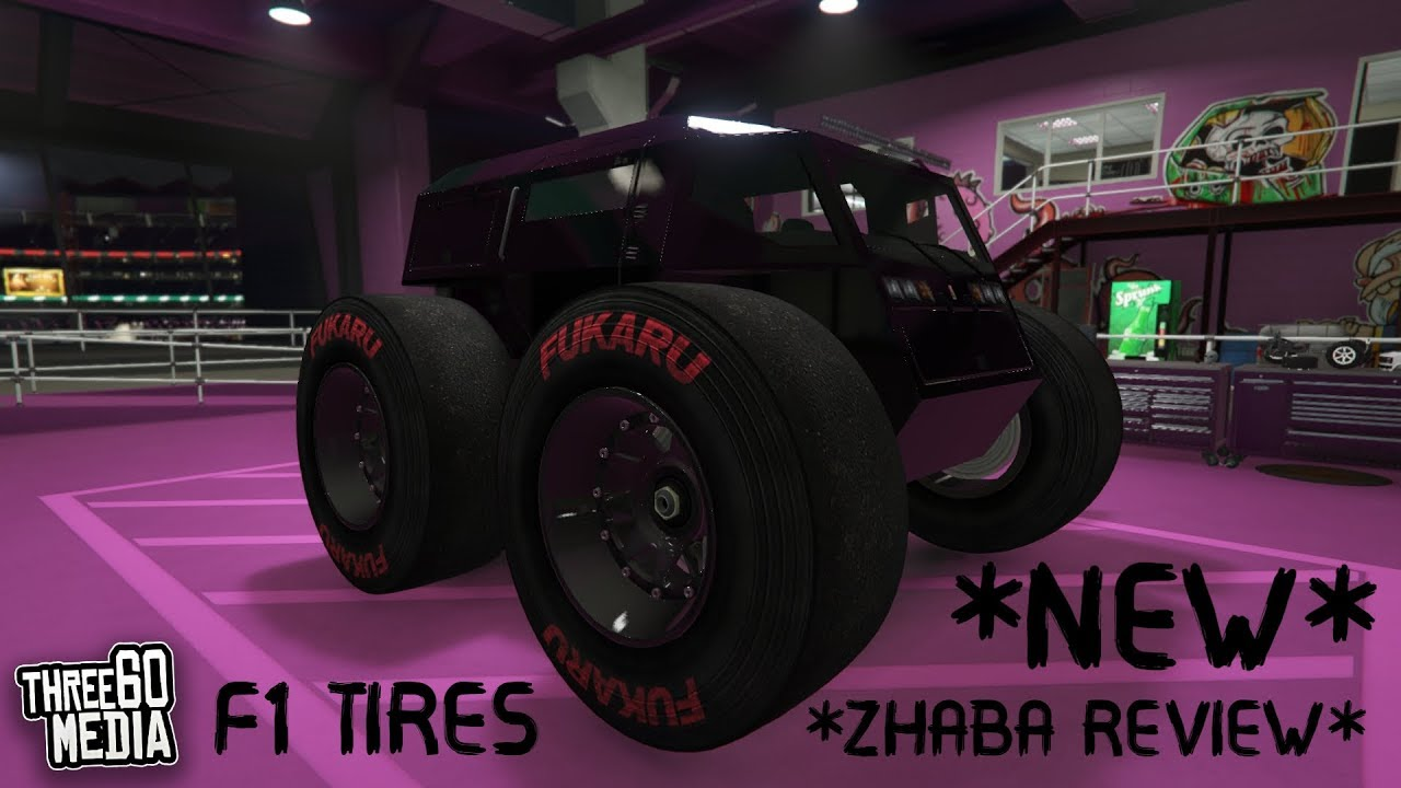 New Zhaba Customisation Review F1 Tires Too Gta Online New Car Youtube