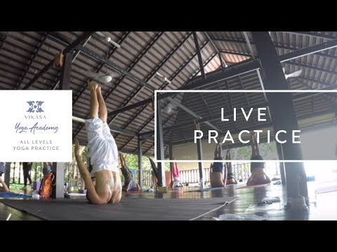 Vikasa Yoga Complete Asana Sequence 1 | Vikasa Live Session