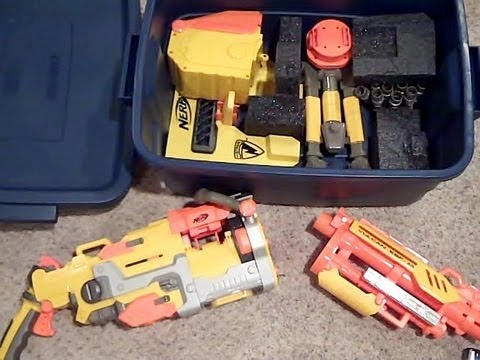 Breakdown Nerf Vulcan Mod Cool Compact Gun W Removable