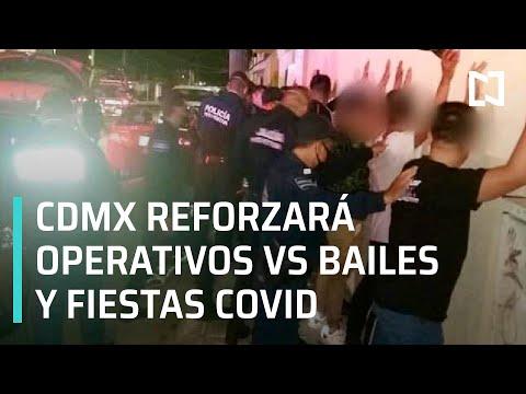 Operativos en CDMX contra fiestas clandestinas y bailes sonideros durante pandemia - En Punto
