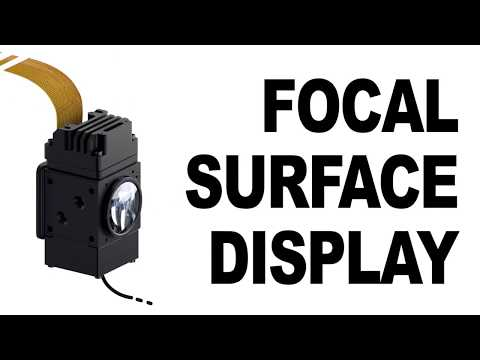 Oculus Research 2017 Breakthrough - Focal surface display
