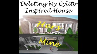 DELETING MY CYLITO INSPIRED HOUSE !? // Roblox Bloxburg // Love Lee's Life