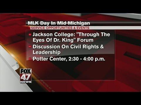 MLK Day in mid-Michigan