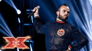 Is Nicole ready for Slavko Kalezic and his braid? | Six Chair Challenge | The X Factor 2017