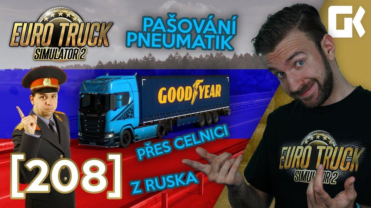 PAŠUJEME PNEUMATIKY Z RUSKA!   Euro Truck Simulator 2 #208