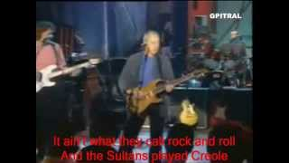 Dire Straits Sultans Of Swing lyrics - song lyrics sultans of swing dire straits