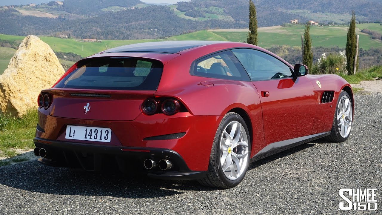 ferrari gtc4lusso t what 39 s it like with a v8 youtube. Black Bedroom Furniture Sets. Home Design Ideas