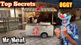 Top Secret For Mr Meat Horror Game With Oggy and Jack