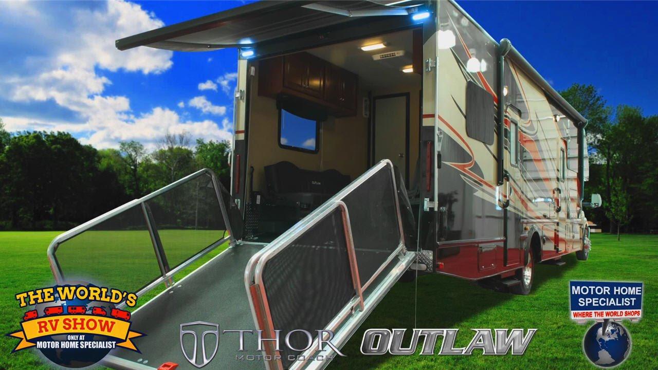 Diesel Toy Haulers, RVs, & Motorhomes! Class C Motorhome Super C RV Review
