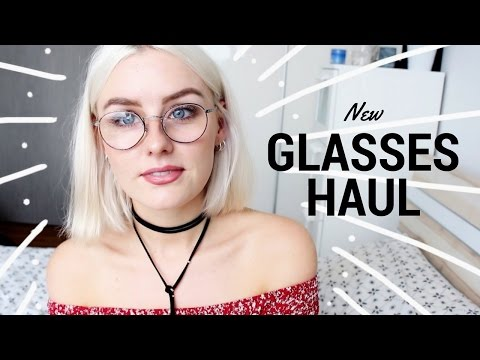 NEW GLASSES TRY-ON HAUL 2017