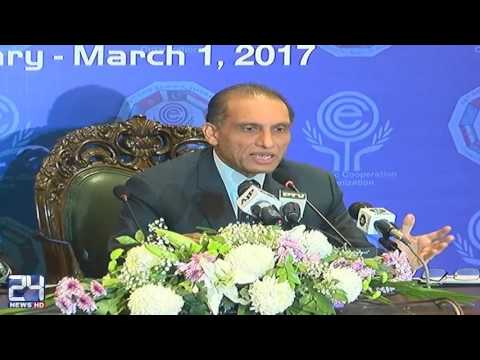 Pakistan attaches great importance to ECO; Aizaz Chaudhry