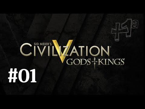 Civilization V E01: Série nova! | Gods & Kings | +Uma