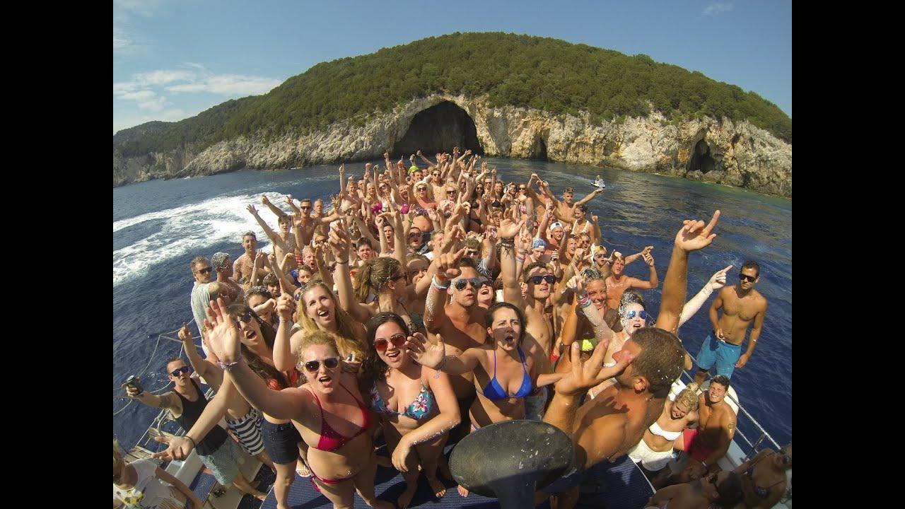 Kavos Booze Cruise  Boat Party 2014 Promo Kavoscruises -4445
