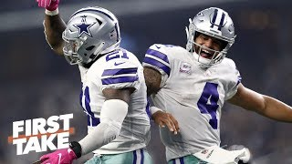 Dak Prescott-Zeke Elliott duo to have biggest impact vs. Rams | First Take