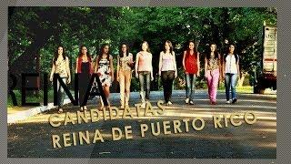 Clip Presentación de las candidatas a Reina de Puerto Rico 2014 (Misiones, Argentina)