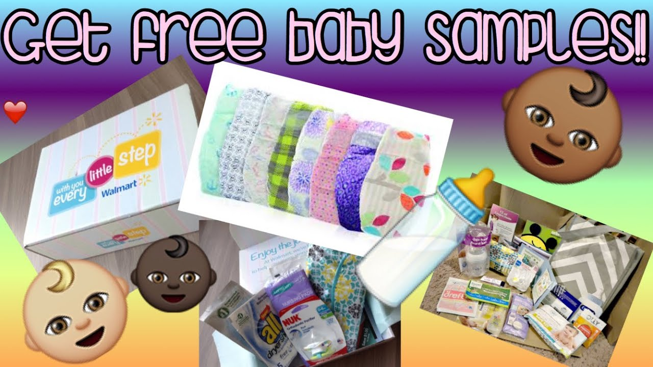 How to sign up for free baby stuff