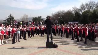 SHHS Marching Band in Turkey- Robert College- Simarik- 3/29/2013