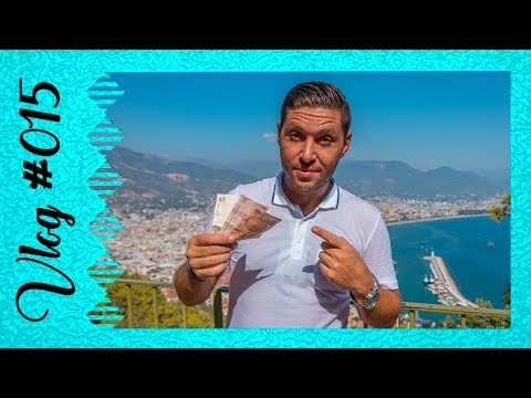 Is Alanya, Turkey cheap? 10 Euro travel day challenge…