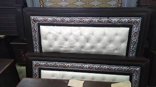 Furniture New Double Bed For Sale Price 20000 - Imam Wood Furniture 03008007586