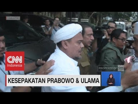 Rizieq Shihab Dukung Prabowo-Sandi, Ini Pesan Nya!