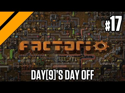 Factorio - Launching my First Rocket P17