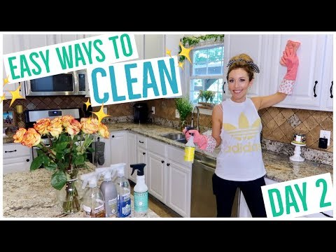 HOW TO CLEAN YOUR KITCHEN SINK, STOVE, STAINLESS + MORE! ✨🍳💪🏼 | CLEAN WEEK DAY 2 | Brianna K