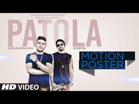 'Patola' Motion Poster | Guru Randhawa ft. Bohemia | T-Series