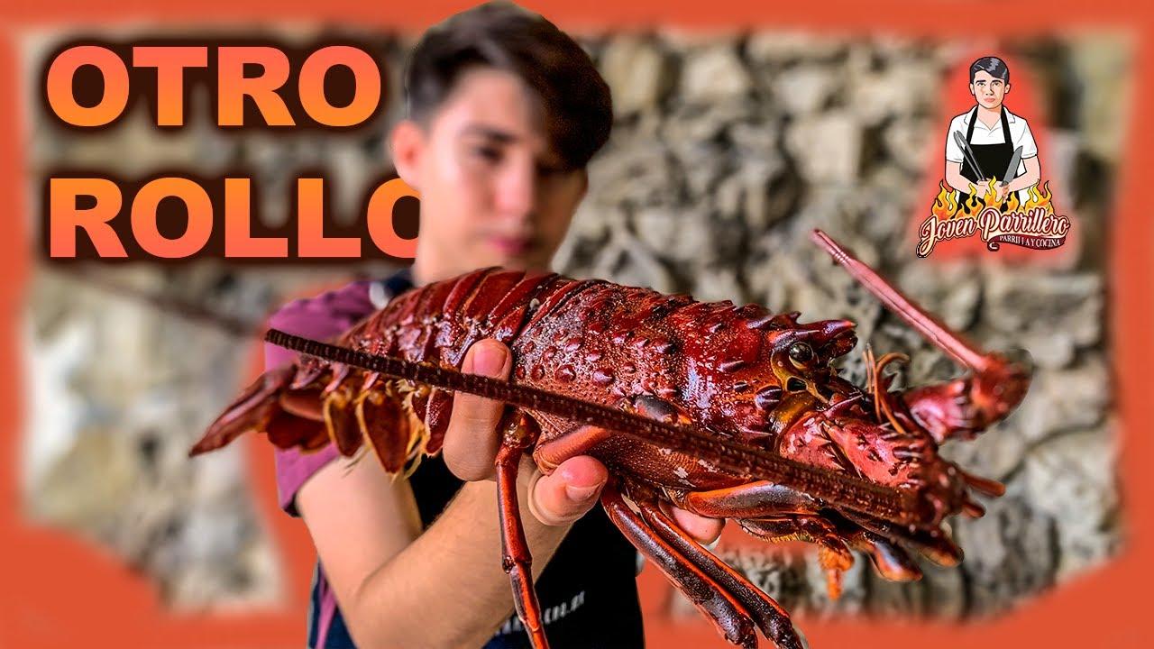LANGOSTA ASADA al PIQUIN *de mis mejores comidas | JOVEN PARRILLERO