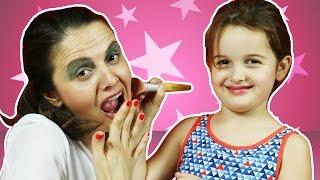 Nil Bana Makyaj Yapıyor | Makyaj Videoları | EvcilikTV