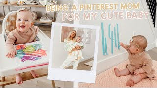 Being A Pinterest Mom During Quarantine!! Diy Baby Toys And New Dinner Recipe!